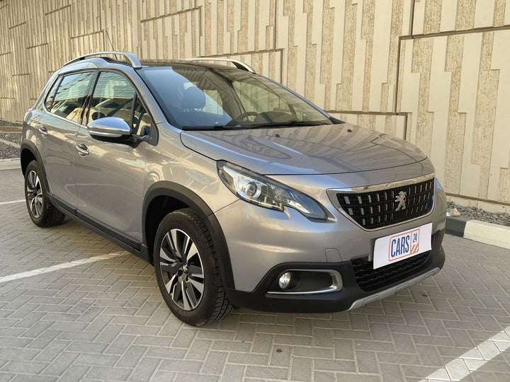 Peugeot 2008-RIGHT FRONT DIAGONAL (45-DEGREE) VIEW