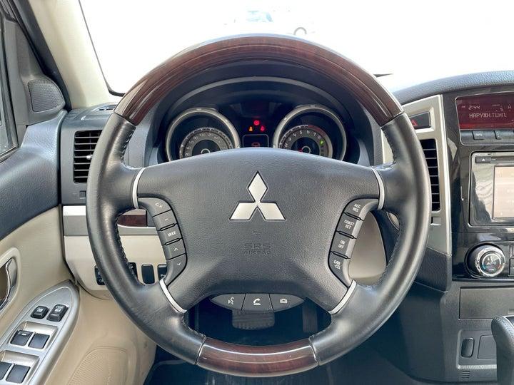 Mitsubishi Pajero-STEERING WHEEL CLOSE-UP