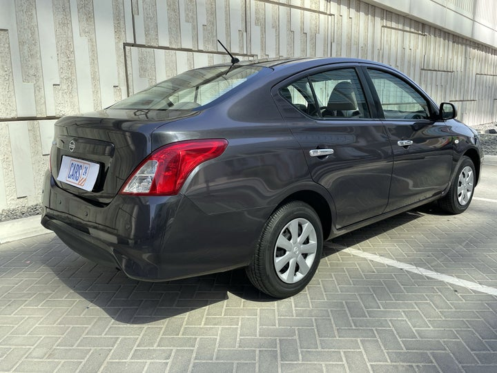 Nissan Sunny-RIGHT BACK DIAGONAL (45-DEGREE VIEW)