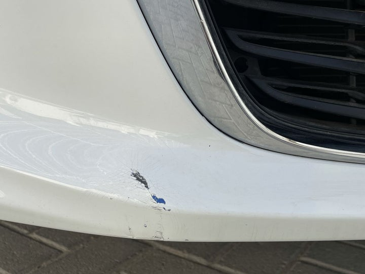 Chevrolet Aveo-Front Bumper Scratched (1 to 2 inches)
