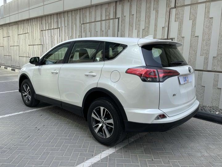 Toyota Rav4-LEFT BACK DIAGONAL (45-DEGREE) VIEW