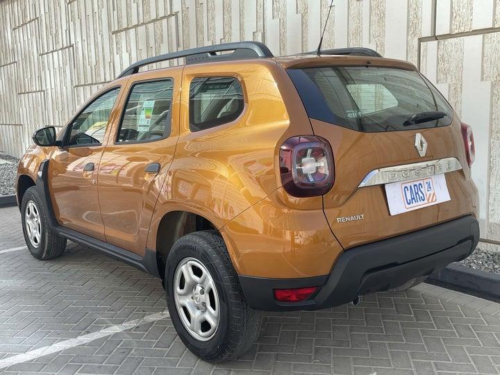 Renault Duster-LEFT BACK DIAGONAL (45-DEGREE) VIEW