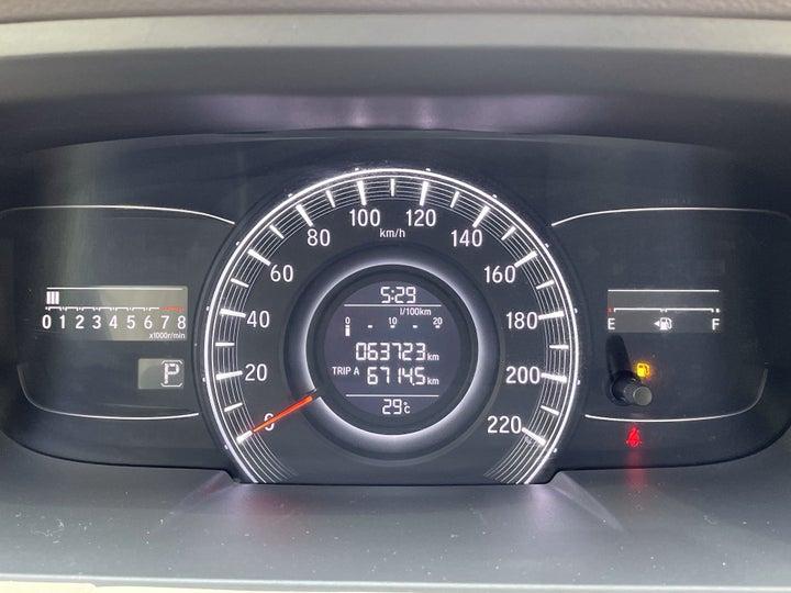 Honda Odyssey-ODOMETER VIEW