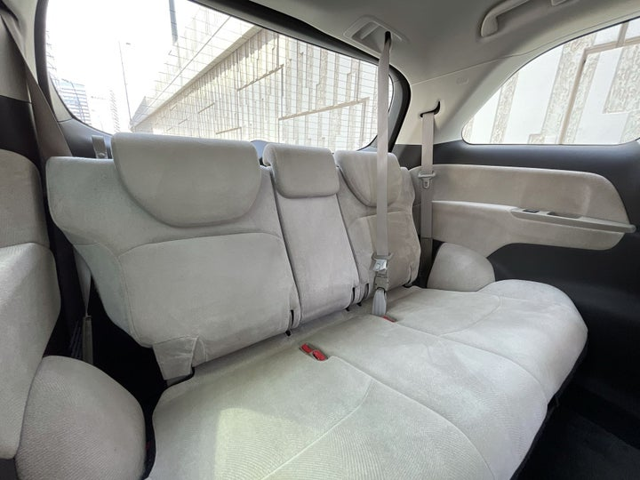 Honda Odyssey-THIRD SEAT ROW (ONLY IF APPLICABLE - eg. SUVs)