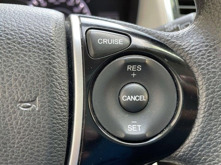 Honda Odyssey-CRUISE CONTROL