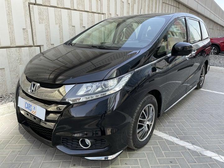 Honda Odyssey-LEFT FRONT DIAGONAL (45-DEGREE) VIEW