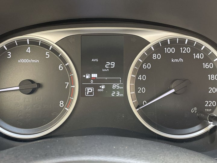 Nissan Sunny-ODOMETER VIEW
