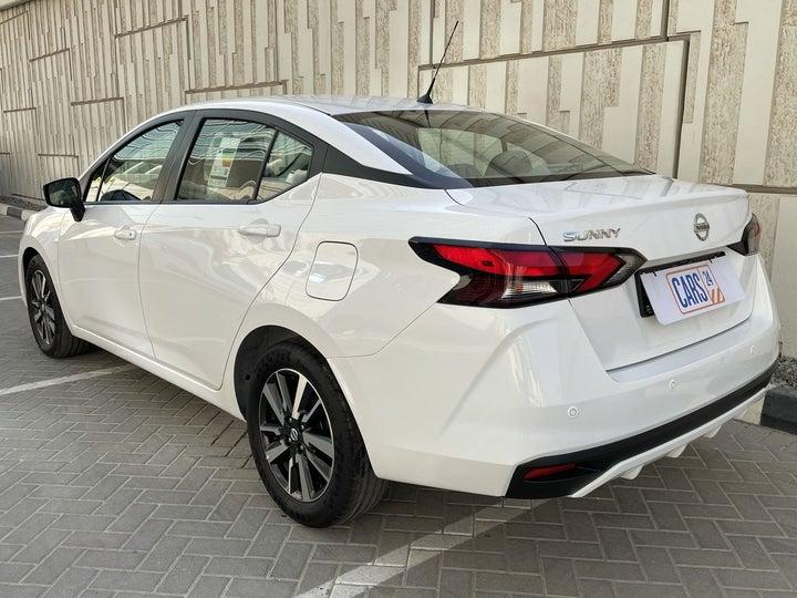 Nissan Sunny-LEFT BACK DIAGONAL (45-DEGREE) VIEW