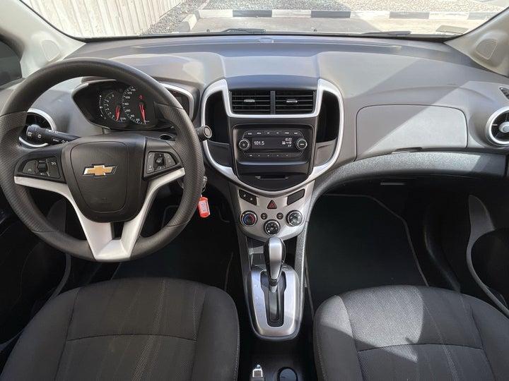 Chevrolet Aveo-DASHBOARD VIEW