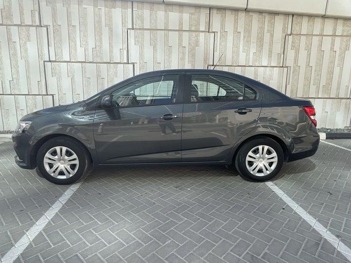 Chevrolet Aveo-LEFT SIDE VIEW