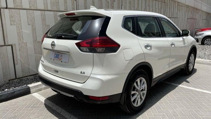 Nissan X-Trail-RIGHT BACK DIAGONAL (45-DEGREE VIEW)
