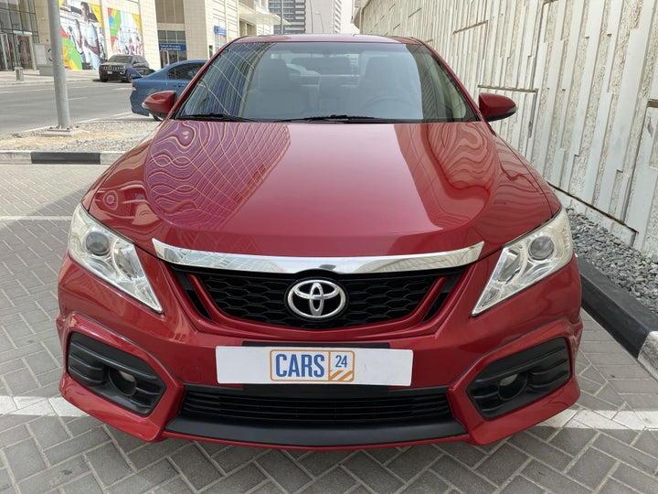 Toyota Aurion-FRONT VIEW