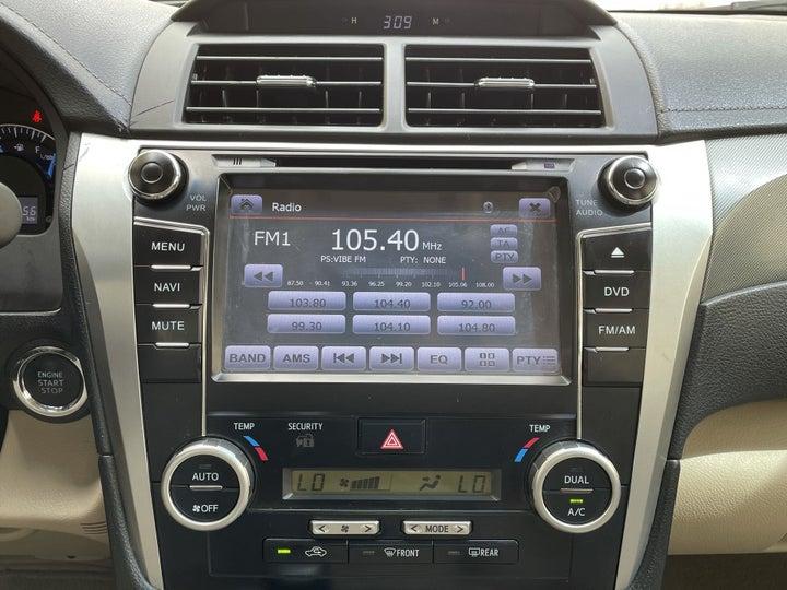 Toyota Aurion-CENTER CONSOLE