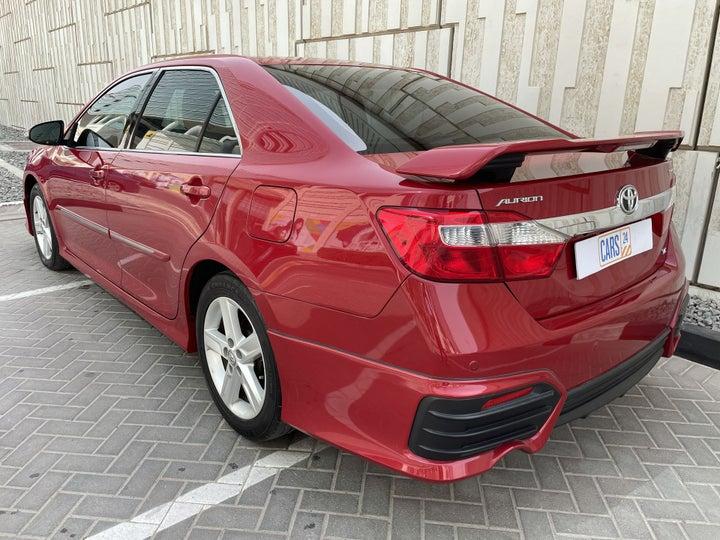 Toyota Aurion-LEFT BACK DIAGONAL (45-DEGREE) VIEW