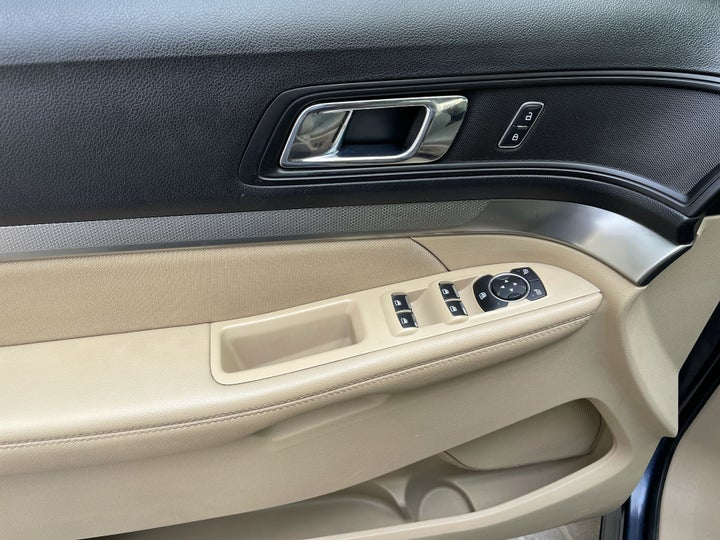 Ford Explorer-DRIVER SIDE DOOR PANEL CONTROLS