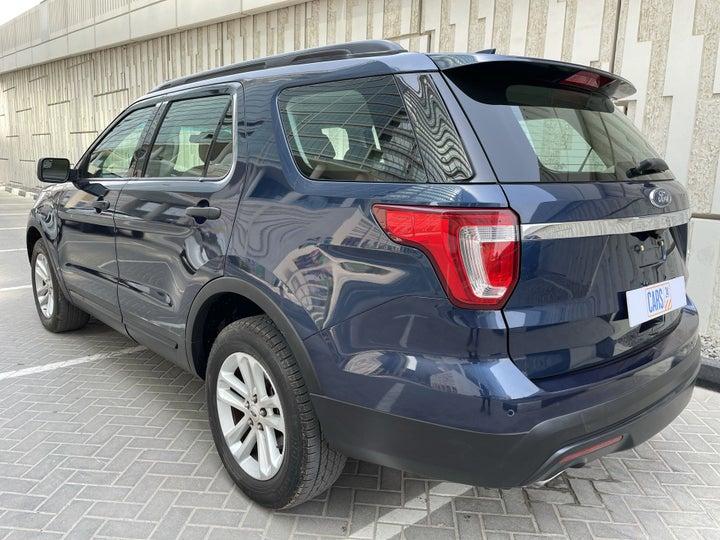 Ford Explorer-LEFT BACK DIAGONAL (45-DEGREE) VIEW