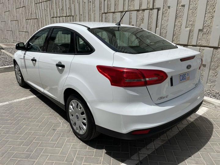 Ford Focus-LEFT BACK DIAGONAL (45-DEGREE) VIEW