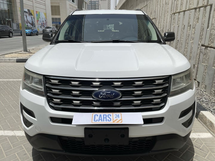 Ford Explorer-FRONT VIEW