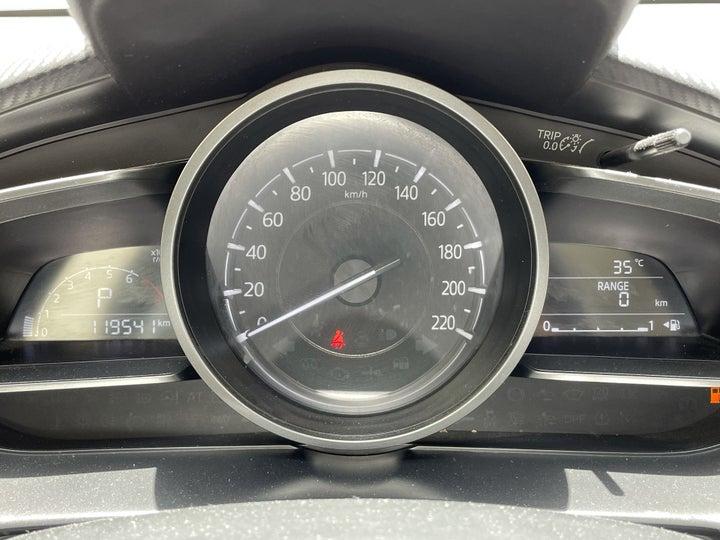 Mazda CX 3-ODOMETER VIEW