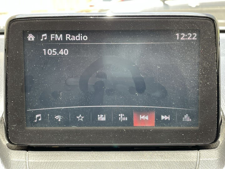 Mazda CX 3-INFOTAINMENT SYSTEM