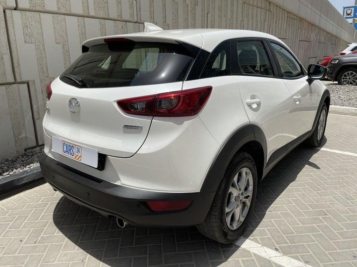 Mazda CX 3-RIGHT BACK DIAGONAL (45-DEGREE VIEW)