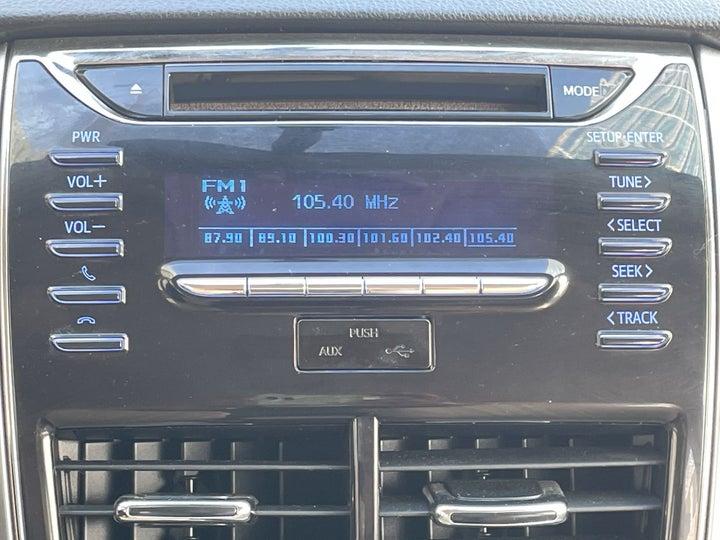Toyota Yaris-INFOTAINMENT SYSTEM