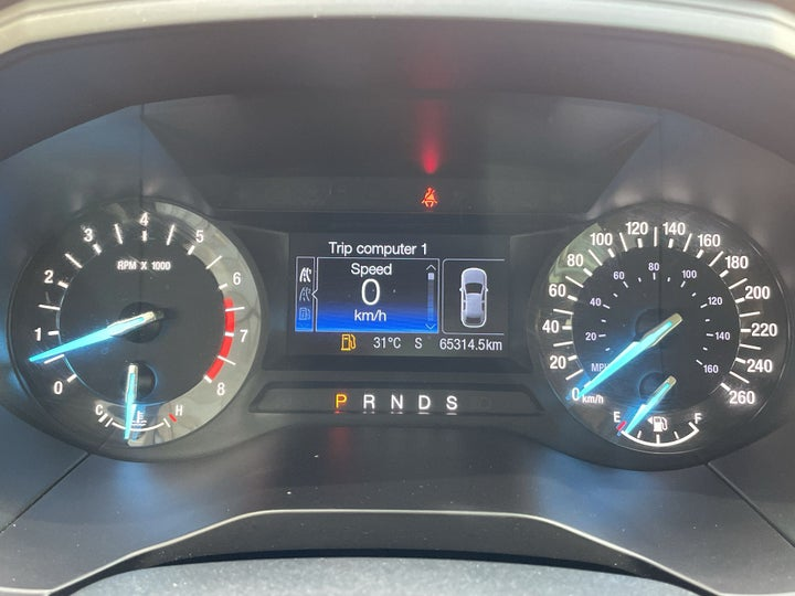 Ford Edge-ODOMETER VIEW