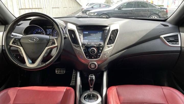 Hyundai Veloster-DASHBOARD VIEW
