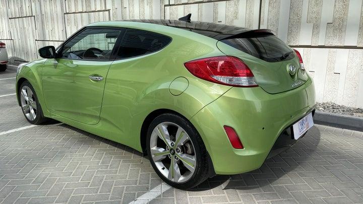 Hyundai Veloster-LEFT BACK DIAGONAL (45-DEGREE) VIEW