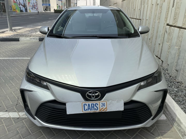 Toyota Corolla-FRONT VIEW