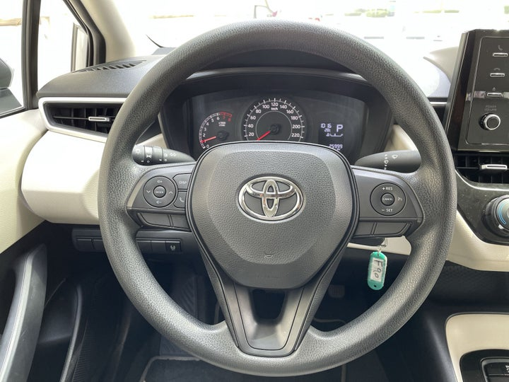 Toyota Corolla-STEERING WHEEL CLOSE-UP
