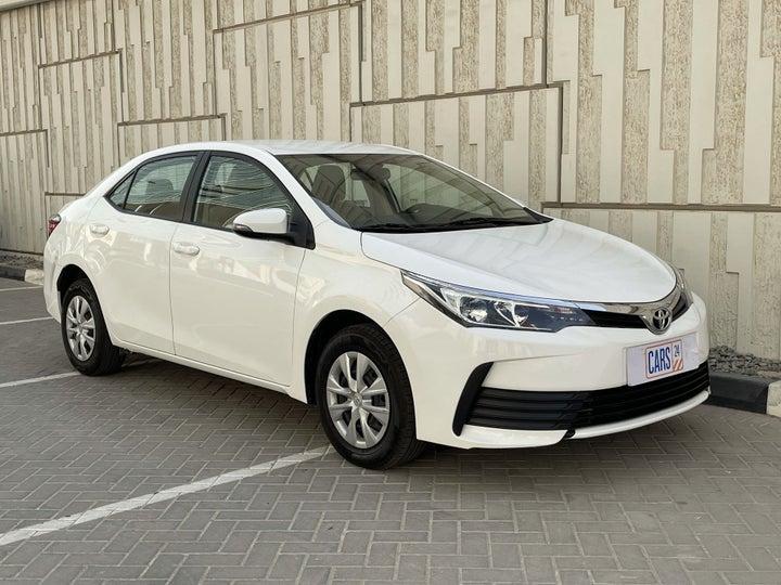 Toyota Corolla-RIGHT FRONT DIAGONAL (45-DEGREE) VIEW