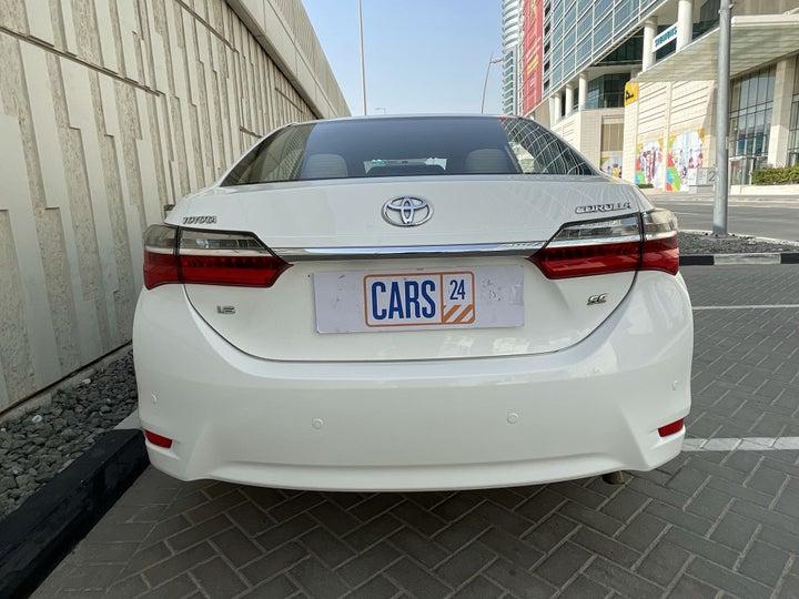 Toyota Corolla-BACK / REAR VIEW