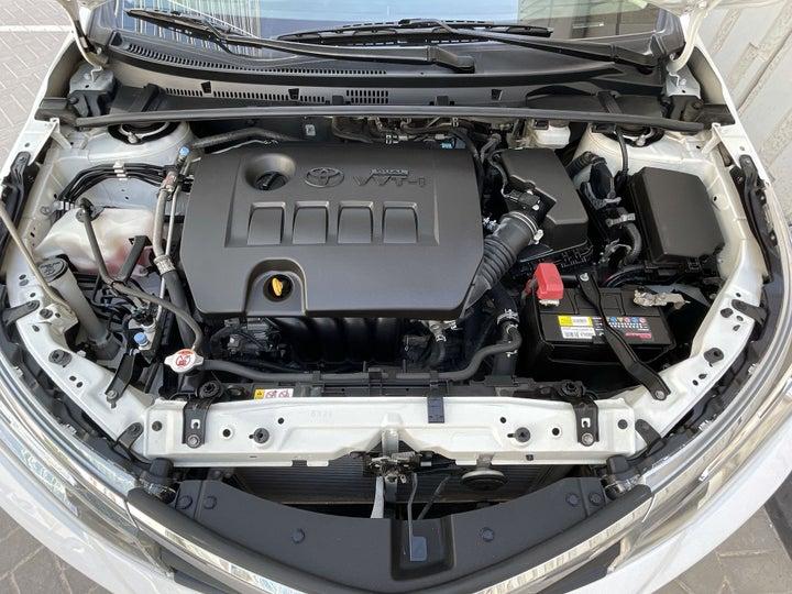 Toyota Corolla-OPEN BONNET (ENGINE) VIEW