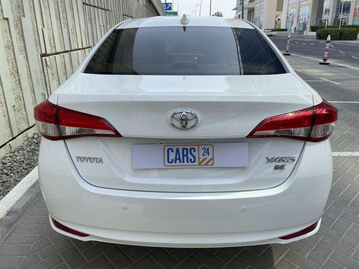 Toyota Yaris-BACK / REAR VIEW