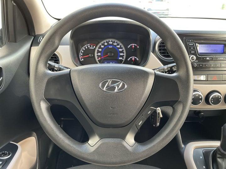 Hyundai Grand I10-STEERING WHEEL CLOSE-UP