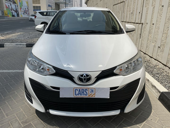 Toyota Yaris-FRONT VIEW