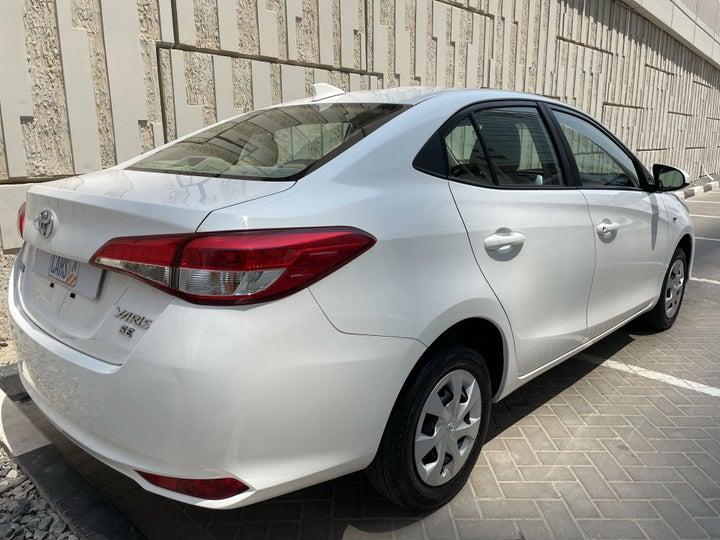 Toyota Yaris-RIGHT BACK DIAGONAL (45-DEGREE VIEW)