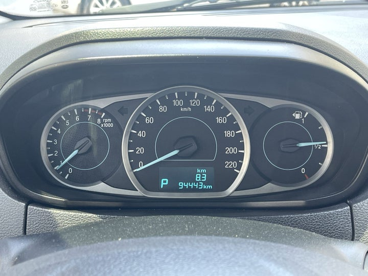 Ford Figo-ODOMETER VIEW