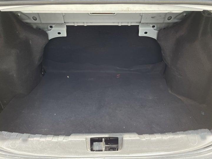 Ford Figo-BOOT INSIDE VIEW