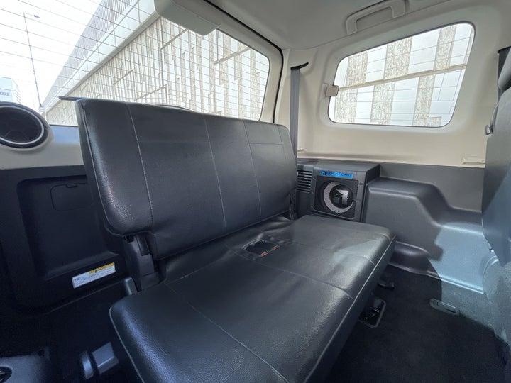 Mitsubishi Pajero-THIRD SEAT ROW (ONLY IF APPLICABLE - EG. SUVS)