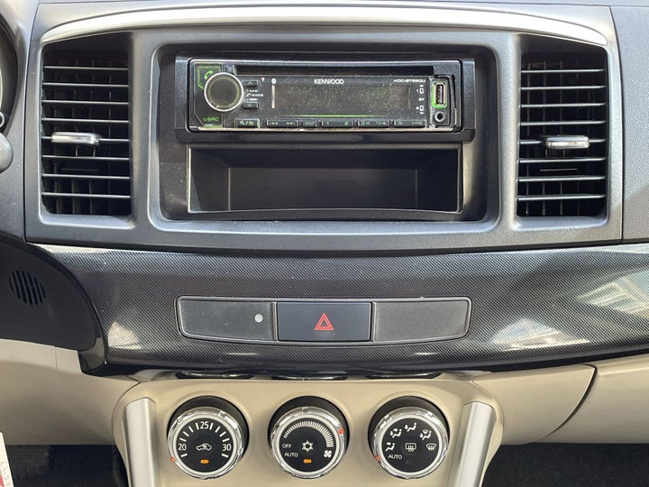 Mitsubishi Lancer-CENTER CONSOLE