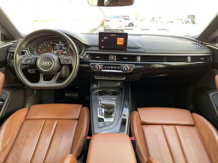 Audi A5-DASHBOARD VIEW