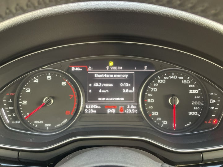 Audi A5-ODOMETER VIEW