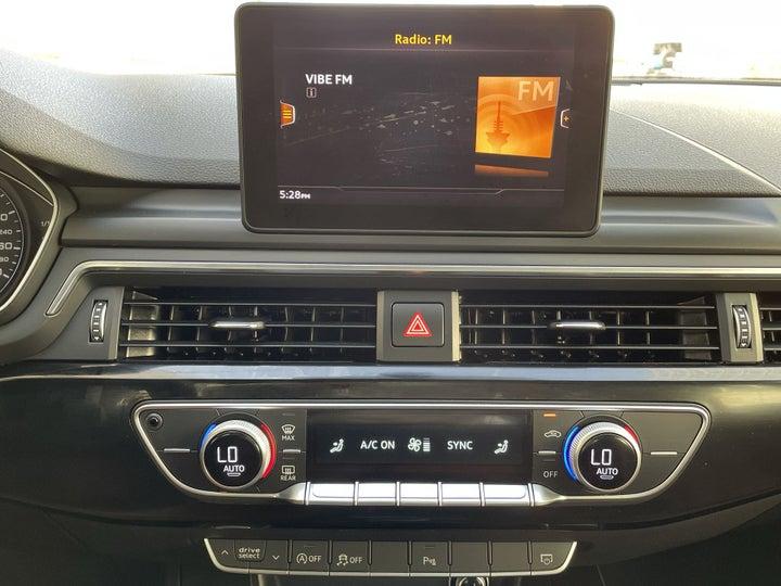 Audi A5-CENTER CONSOLE