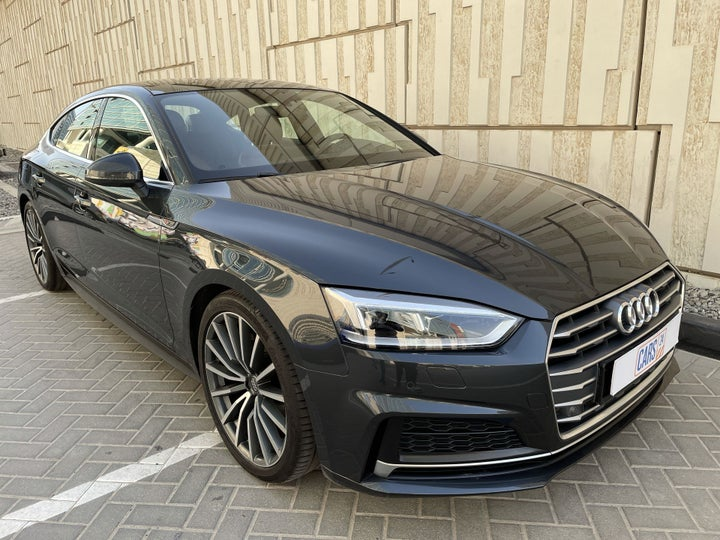 Audi A5-RIGHT FRONT DIAGONAL (45-DEGREE) VIEW