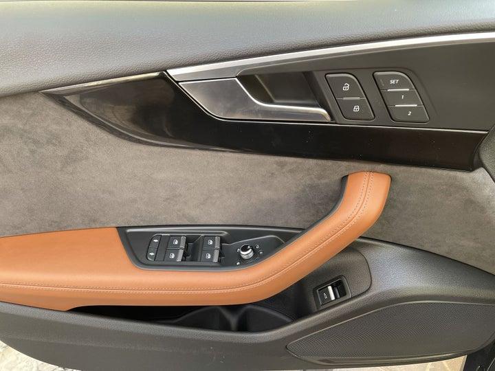 Audi A5-DRIVER SIDE DOOR PANEL CONTROLS