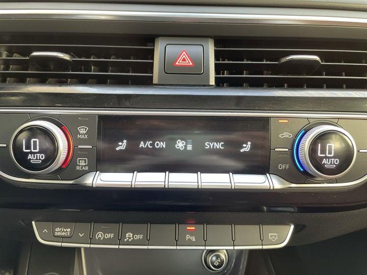 Audi A5-AUTOMATIC CLIMATE CONTROL