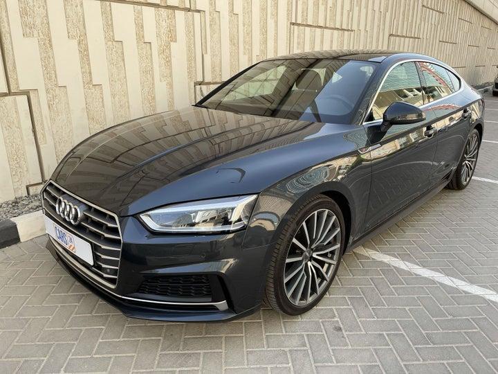 Audi A5-LEFT FRONT DIAGONAL (45-DEGREE) VIEW