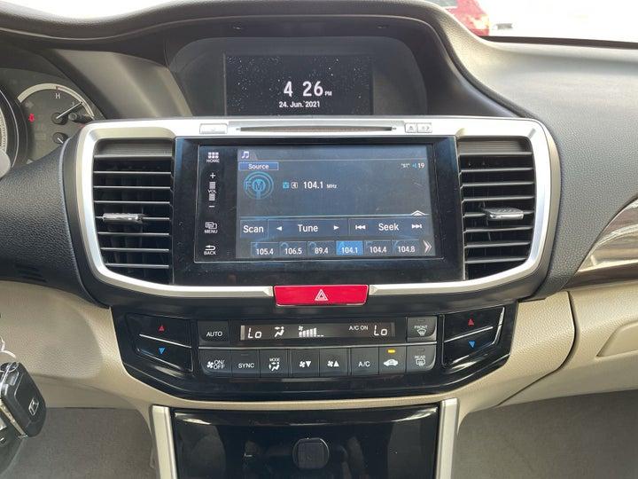 Honda Accord-CENTER CONSOLE